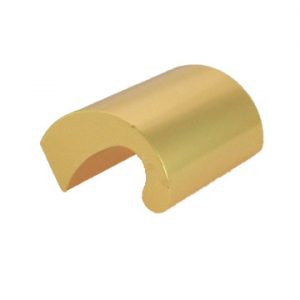 FJK-79S/G - 40mm C.C. ALUM. FINGER PULL/GLD (M4 Screw) (4)