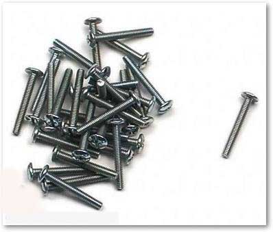 M0832012Z - Truss Head Hardware Screw - 8-32 x 1/2 in. (YB3)