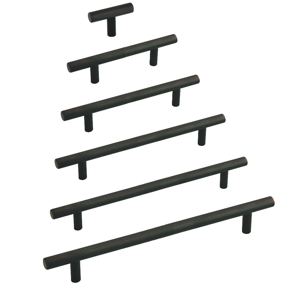 Bar Pulls Oil Brushed Bronze 1 1 2 To 24 Inch Lengths